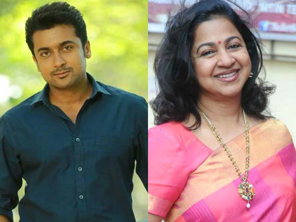 Radhika Share Screen Space with Surya