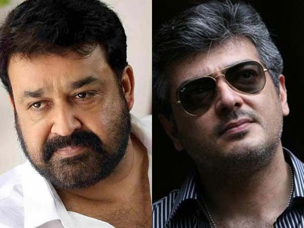 Ajith to join with Mohan Lal?