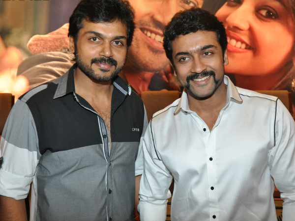 Surya Gives me Sleepless Nights says Karthi