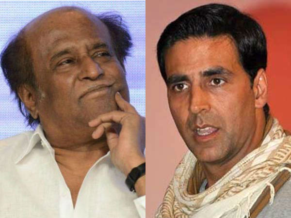 I don't have the guts to ask Rajinikanth his number - Akshay Kumar