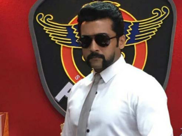 Surya's S3 Shooting in Karaikudi