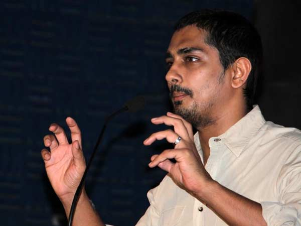 What do Siddharth tweet about misunderstanding?