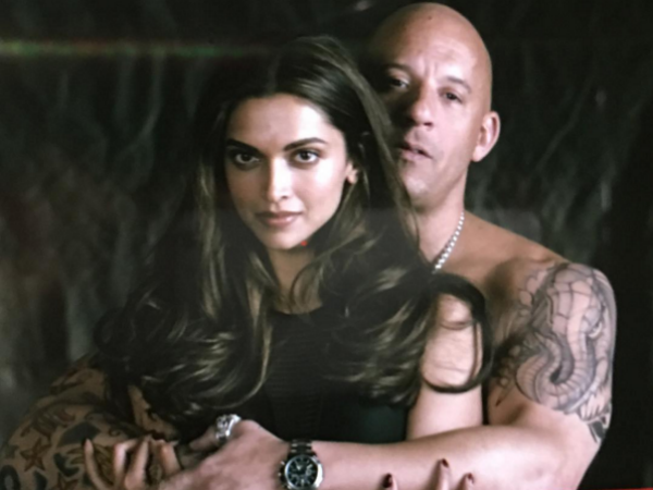 Deepika Padukone's xXx look: Vin Diesel shares first day shooting pics