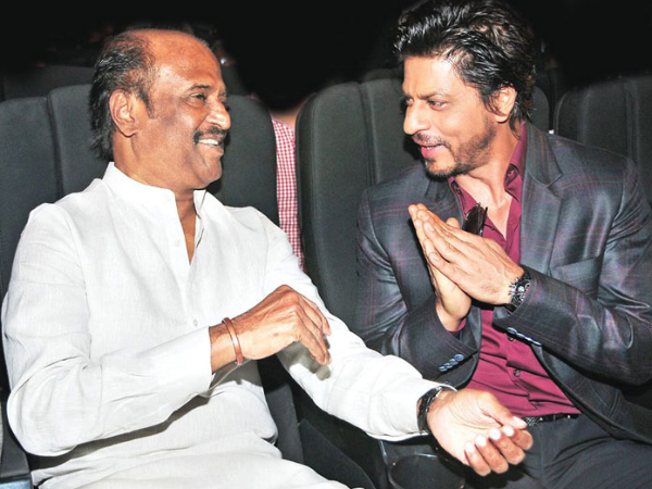 I'm not a star, your fan: SRK to Rajinikanth