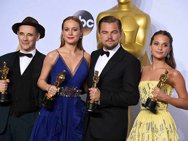 Complete list of Oscar winners 2016