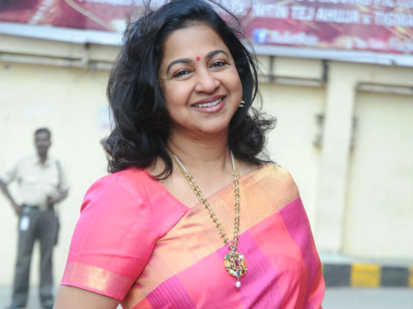 Politics: Radhika follows Rajini