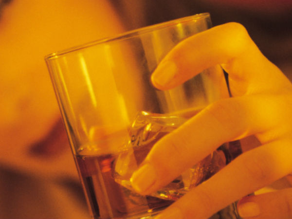 Heroine turns drunkard