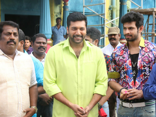 Bogan movie launched with Pooja