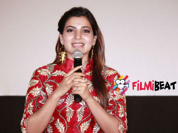 Samantha not attend Theri Audio Function