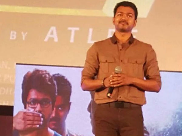 Vijay regrets for his mistake in Theri stage