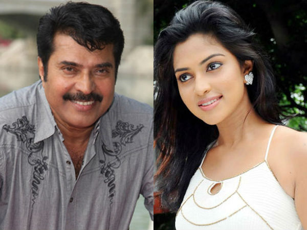 Amala Paul to be paired with Mammootty