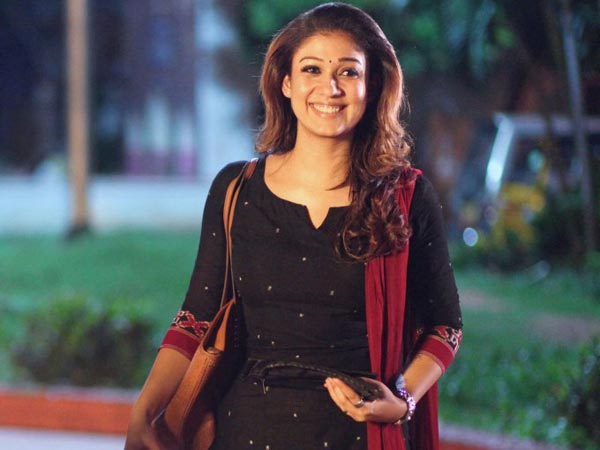 Theri A Quality Cinema Great entertainer says Nayanthara