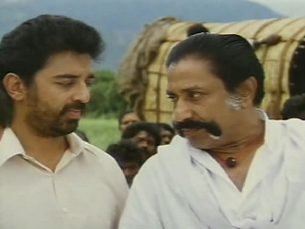 Kamal remembers experience with Sivaji in Thever Magan