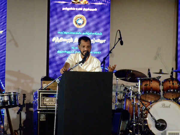Na Muthukkumar participates Tamil New Year celebration at Dallas