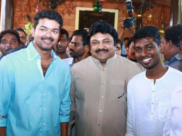 Vijay Again Join hands with Atlee