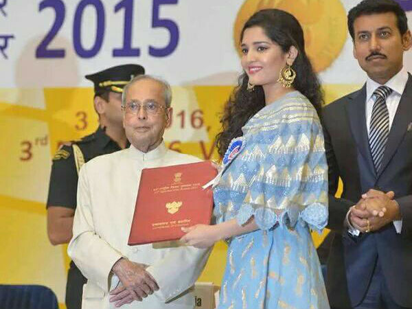 Ritika Singh Receives her First National Award
