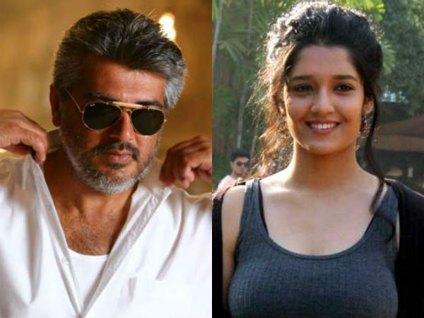 Ritika Singh Team up with Ajith