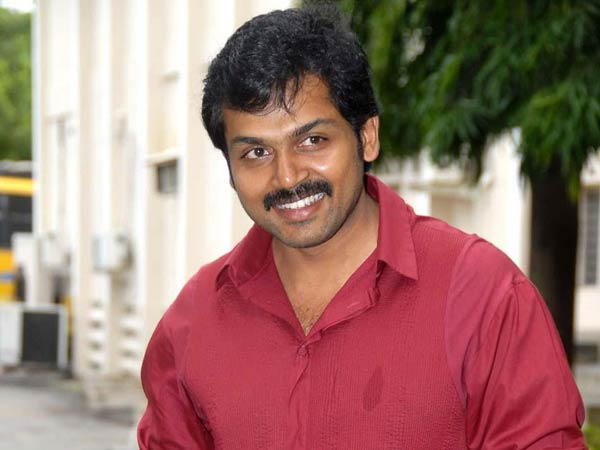 Actor Karthi Casting his Vote