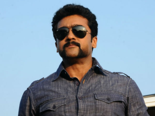 Actor Surya in trouble