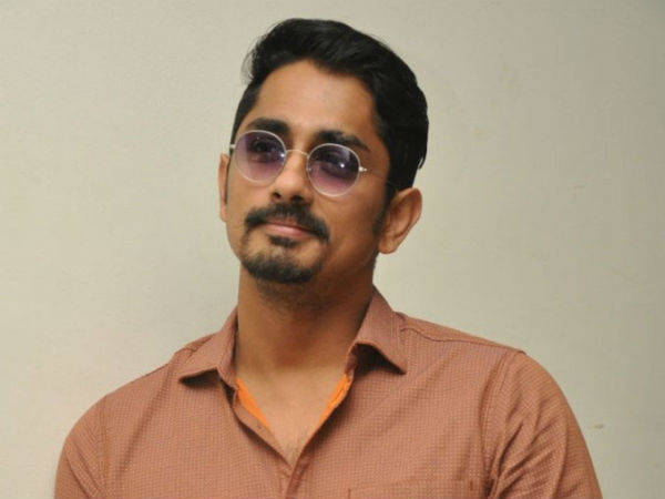 Siddharth's Upcoming Movie Details
