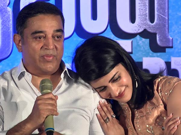 Dad brings positivity on the sets: Shruti Haasan