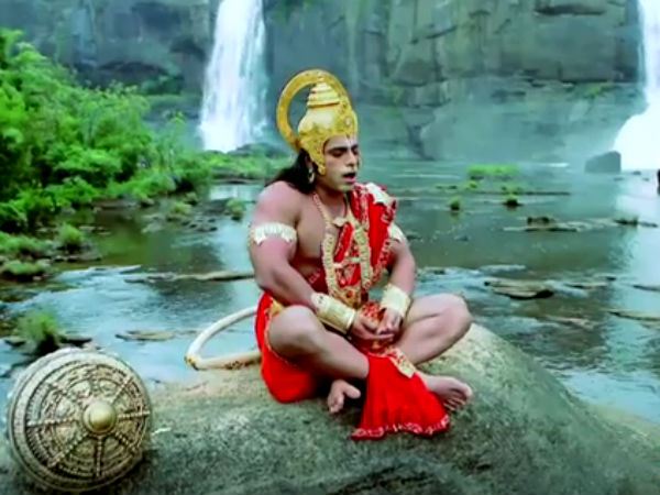 Jay Hanuman Telecast on Sun TV