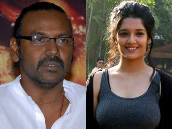 Ritika Singh Pair with Raghava Lawrence
