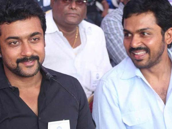 Suriya's 2D Entertainment Produce Karthi Movie