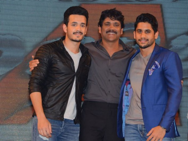 Nagarjuna Talks about Naga Chaitanya and Akhil' love
