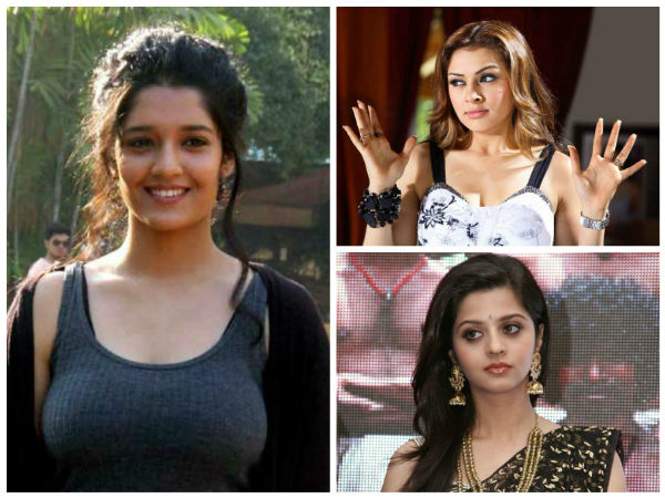 Vedhika and Hansika fury on Rithika