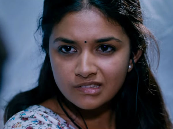 Keerthi Suresh plays with out make up in Thodari