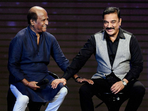 Rajinikanth inquires Kamal Hassan's health