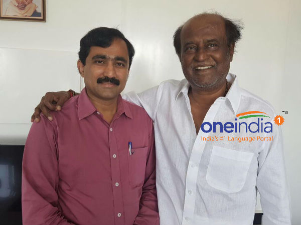 Ponraj Meets Rajinikanth and praises to sky high