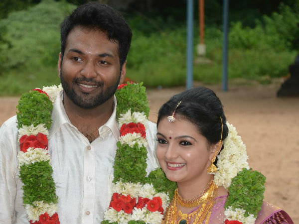 Actress Saranya Mohan blessed with a baby boy
