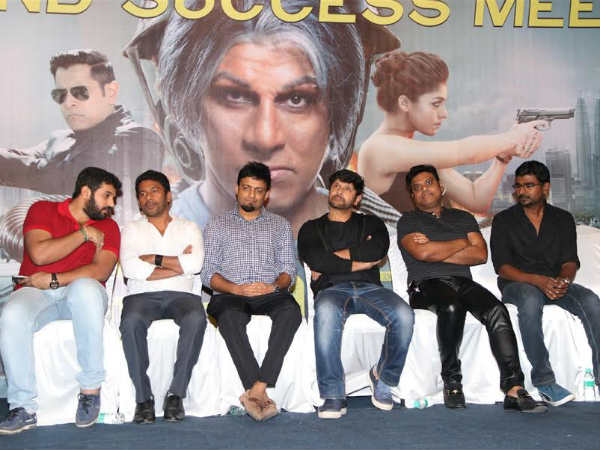 Iru Mugan success meet