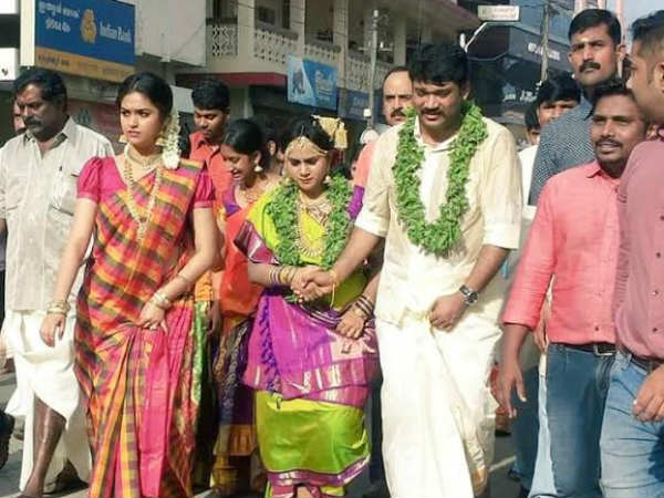 Sivakarthikeyan in Keerthi Suresh family marriage