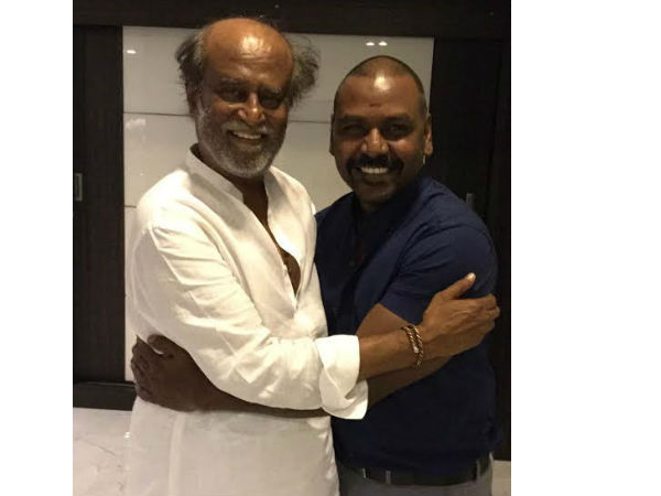 Rajinikanth blessed Raghava Lawrence for Sivalinga