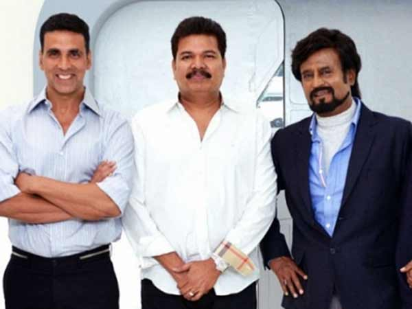War sequence in Rajini's 2.O
