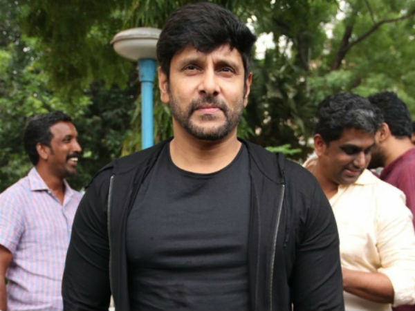 Vikram's speech in Iru Mugan success meet