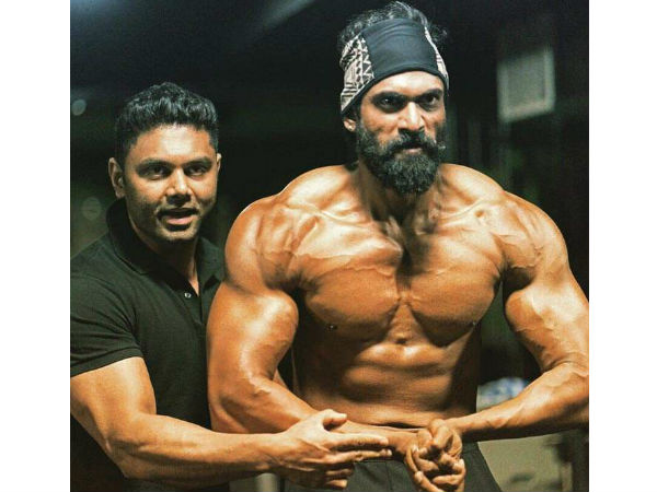 Rana reveals his Bahubali 2 look