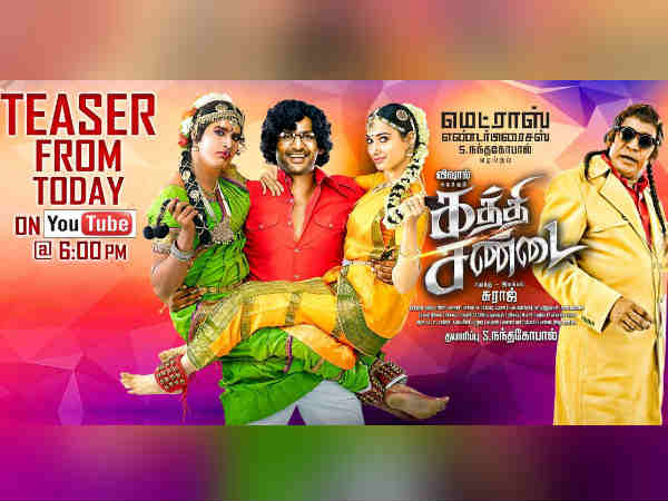 Vishal's Kaththi Sandai Trailer from Today