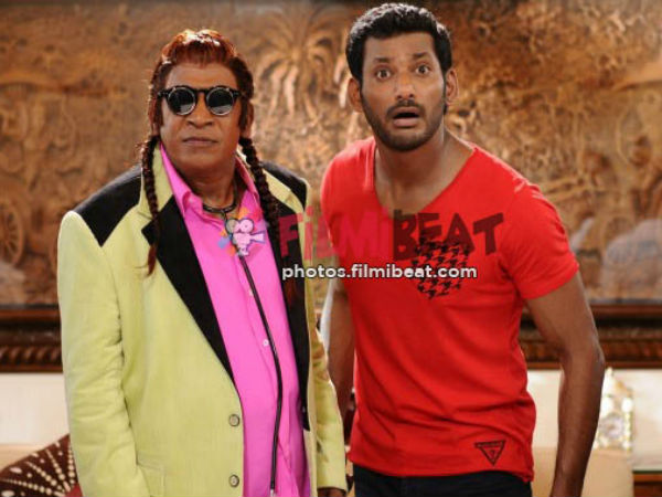 What, Neruppuda song for Vadivelu?