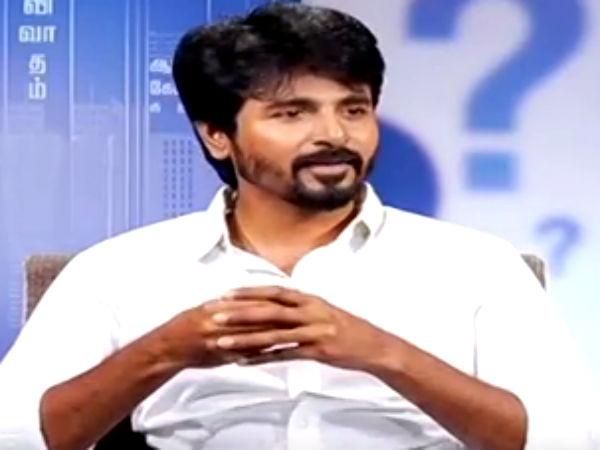 Sivakarthikeyan talks about attack by Kamal fans