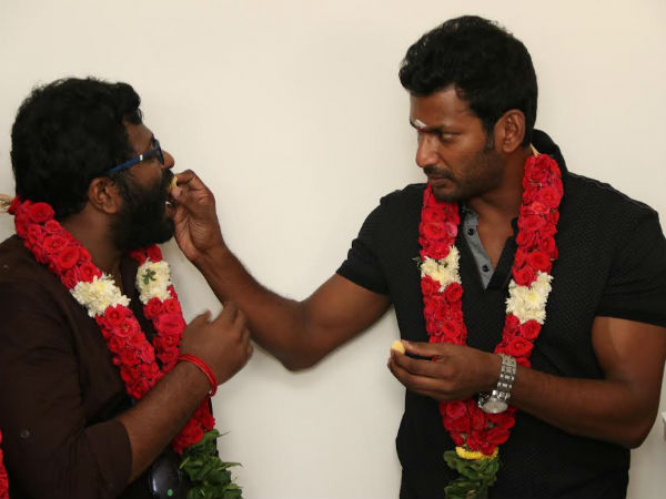 Vishal's new movie launched