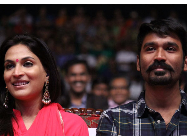 Dhanush, Aishwarya think alike