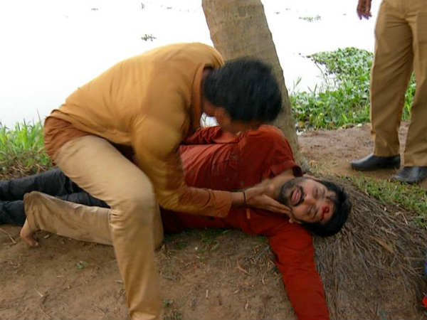 Deivamagal serial witness a murder