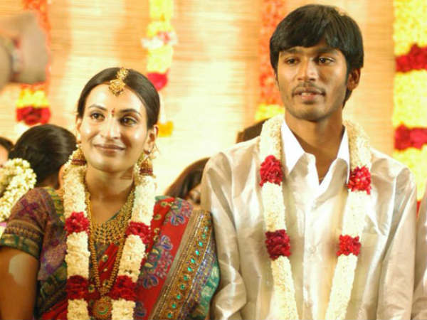 Dhanush, Aishwarya celebrate 12th wedding anniversary