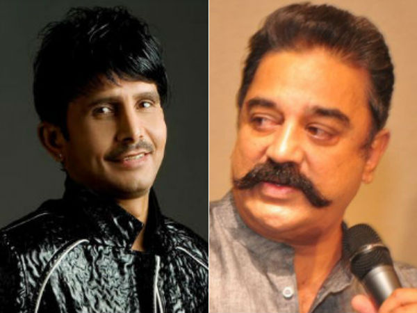 After Rajini, KRK targets Kamal Haasan