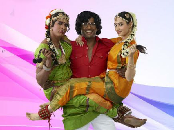 Vadivelu rocks in Kaththi Sandai - Director Suraj