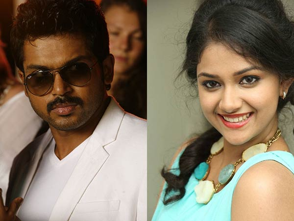 Keerthi to be paired with Karthi!
